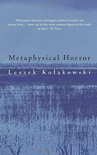 9780226450551: Metaphysical Horror