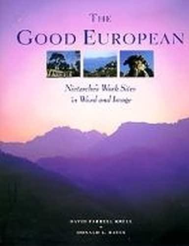 9780226452784: The Good European: Nietzsche's Work Sites in Word and Image