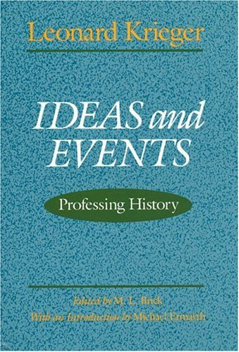 9780226453026: Ideas and Events: Professing History