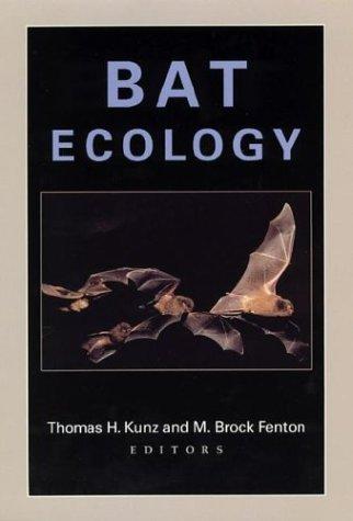 9780226462066: Bat Ecology
