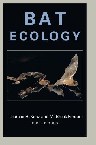 9780226462073: Bat Ecology
