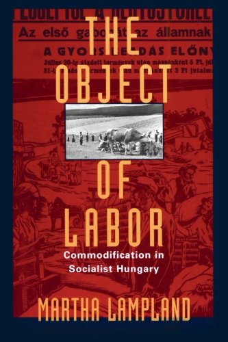 9780226468303: The Object of Labor: Commodification in Socialist Hungary