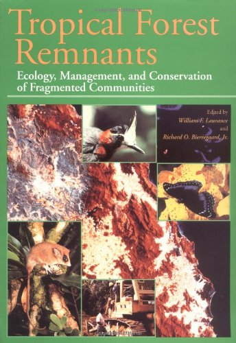 9780226468990: Tropical Forest Remnants: Ecology, Management, and Conservation of Fragmented Communities