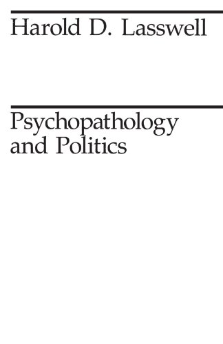 9780226469195: Psychopathology and Politics (Midway Reprint)