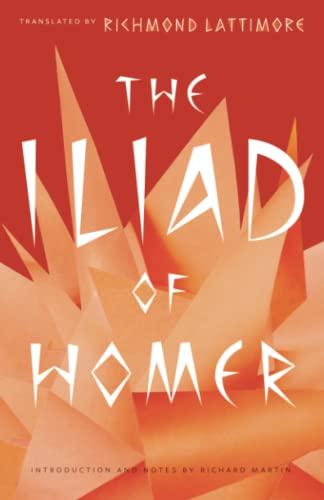 9780226470498: The Iliad of Homer