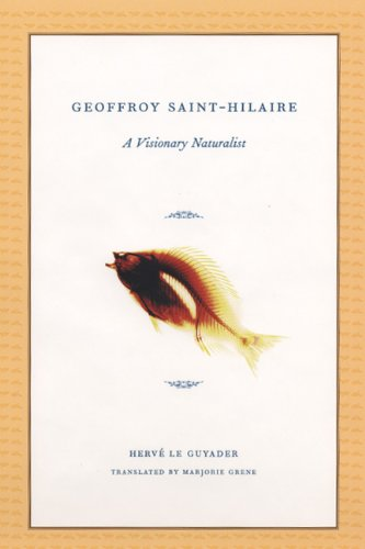 9780226470917: Geoffroy Saint-Hilaire: A Visionary Naturalist