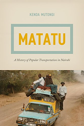 9780226471396: Matatu: A History of Popular Transportation in Nairobi