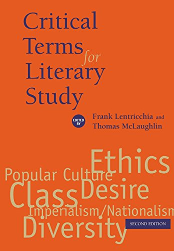 9780226472034: Critical Terms for Literary Study