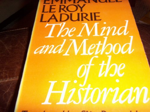9780226473253: Mind and Method of the Historian