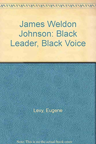 9780226476049: James Weldon Johnson: Black Leader, Black Voice