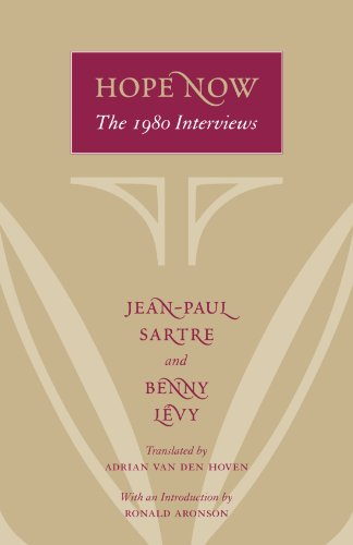 Hope Now: The 1980 Interviews (0226476316) by Sartre, Jean-Paul; Lévy, Benny