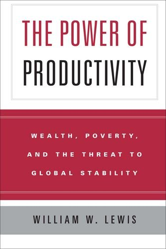 9780226476766: The Power of Productivity: Wealth, Poverty, and the Threat to Global Stability