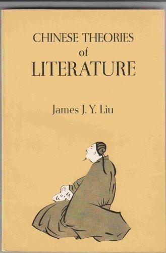 9780226486932: Chinese Theories of Literature