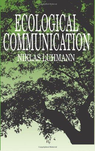 9780226496511: Ecological Communication