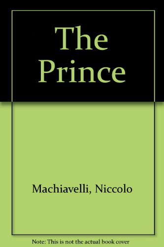 9780226500379: The Prince: A New Translation