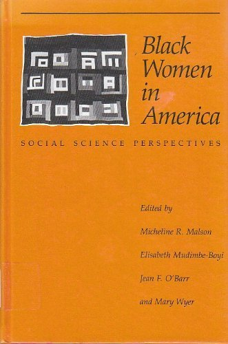 9780226502953: Black Women in America: Social Science Perspectives