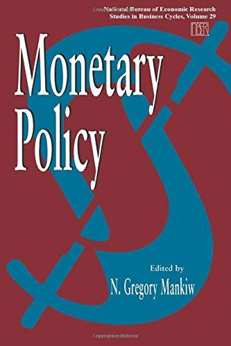9780226503097: Monetary Policy