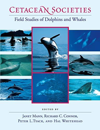 9780226503417: Cetacean Societies: Field Studies of Dolphins and Whales
