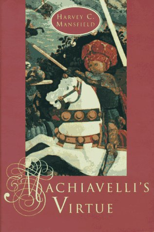 9780226503684: Machiavelli's Virtue