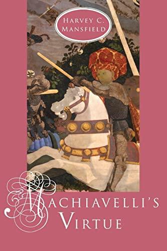 9780226503691: Machiavelli's Virtue