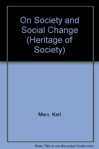 9780226509174: On Society and Social Change (Heritage of Society S.)