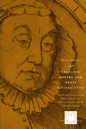 9780226510859: Selected Poetry and Prose: A Bilingual Edition (The Other Voice in Early Modern Europe)