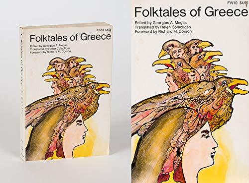 Folktales of Greece: Georgios A. Megas