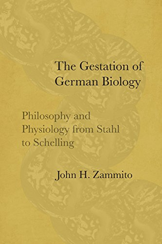 9780226520797: The Gestation of German Biology: Philosophy and Physiology from Stahl to Schelling