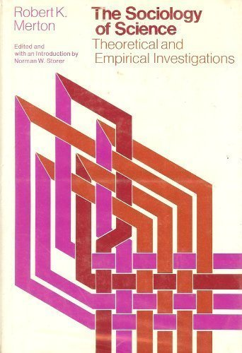 9780226520919: Sociology of Science: Theoretical and Empirical Investigations