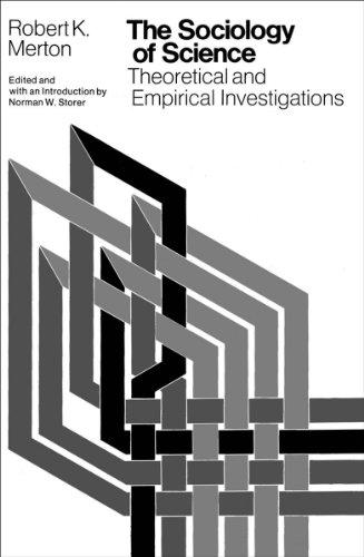 9780226520926: The Sociology of Science: Theoretical and Empirical Investigations