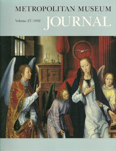 9780226521244: Metropolitan Museum Journal, Volume 27 (METROPOLITAN MUSEUM OF ART (NEW YORK, N Y)//METROPOLITAN MUSEUM JOURNAL)