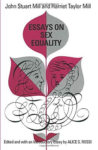 9780226525464: Essays on Sex Equality