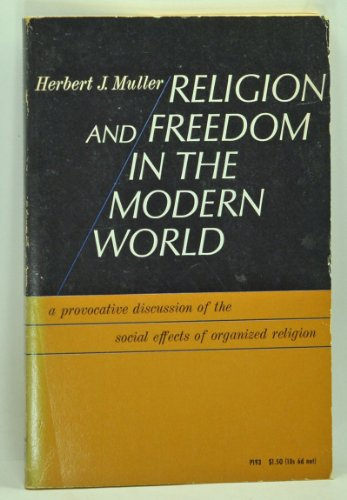 9780226548159: Religion and Freedom in the Modern World