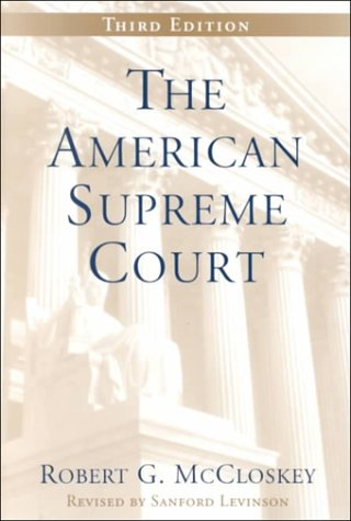 9780226556802: The American Supreme Court (The Chicago History of American Civilization)