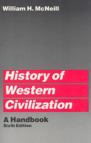 9780226561608: History of Western Civilization (Handbook)