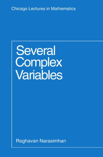 9780226568171: Several Complex Variables (Chicago Lectures in Mathematics)