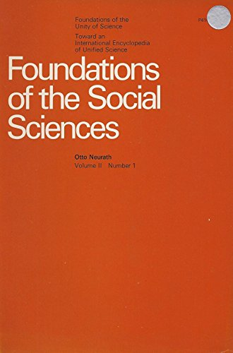 Stock image for Foundations of the Social Science (International Encyclopaedia of Unified Sciences) for sale by Midtown Scholar Bookstore