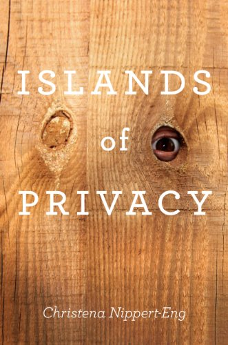 Islands of Privacy 9780226586533 Everyone worries about privacy these days. As corporations and governments devise increasingly sophisticated data gatheringtools and joining Facebook verges on obligatory, concerns over the use and abuse of personalinformation are undeniable. But the way privacy functions on the virtual frontier of the Internet is only a subset of the fascinating ways we work to achieve it throughout our everyday lives. In Islands of Privacy, Christena Nippert-Eng pries open the blinds, giving us an intimate view into the full range of ordinary people's sometimes extraordinary efforts to preserve the border between themselves and the rest of the world. Packed with stories that are funny and sad, familiar and strange, Islands of Privacy tours the myriad arenas where privacy battles are fought, lost, and won. Nippert-Eng explores how we manage our secrets, our phone calls and e-mail, the perimeters of our homes, and our interactions with neighbors. She discovers that everybody practices the art of selectively concealing and disclosing information on a daily basis. This important balancing act governs a wide range of behaviors, from deciding whether to give our bosses our cell phone numbers to choosing what we carry in our wallets or purses. Violations of privacy and anxiety about how we grant it to each other also come under Nippert-Eng's microscope as she crafts a compelling argument that successfully managing privacy is critical for successfully maintaining our relationships with each other and our selves. Roaming from the beach to the bank and from the bathroom to the bus, Nippert-Eng's keenly observed and vividly told book gives us the skinny on how we defend our shrinking islands of privacy in the vast ocean of accessibility that surrounds us.