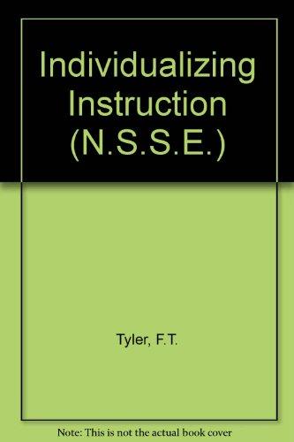 9780226600635: Individualizing Instruction (N.)