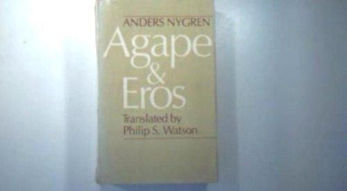 9780226610788: Agape and Eros