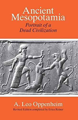 9780226631875: Ancient Mesopotamia: Portrait of a Dead Civilization