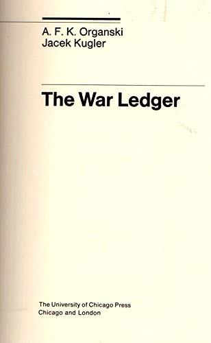 9780226632797: War Ledger