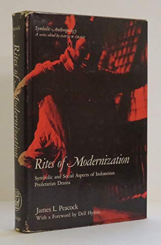 Rites Modernization Symbolic Social Aspects By Peacock Abebooks