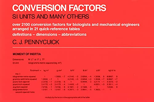 9780226655079: Conversion Factors: S. I. Units and Many Others