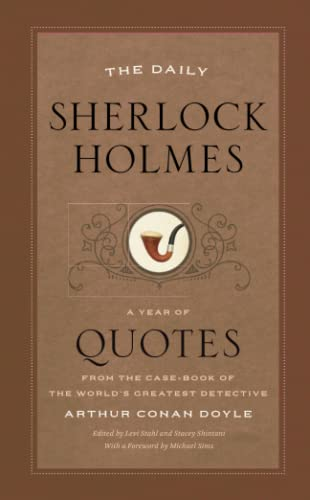 9780226659640: Daily Sherlock Holmes: A Year of Quotes from the Case-Book of the World's Greatest Detective