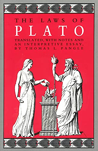9780226671109: The Laws of Plato: With Notes and an Interpretive Essay