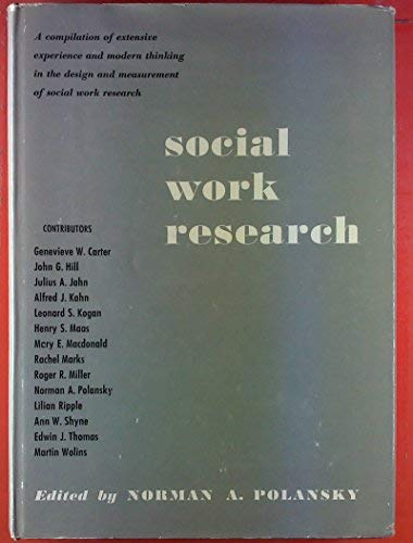 9780226672182: Social Work Research
