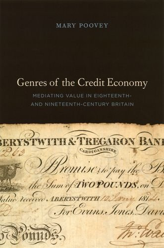 9780226675329: Genres of the Credit Economy: Mediating Value in Eighteenth- and Nineteenth-century Britain
