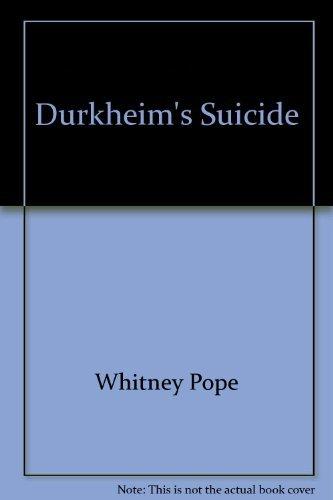 9780226675404: Durkheim's