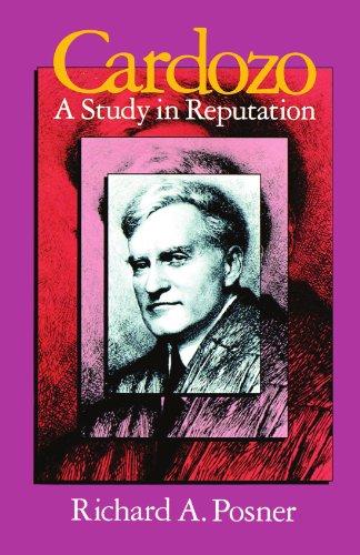 9780226675565: Cardozo: A Study in Reputation